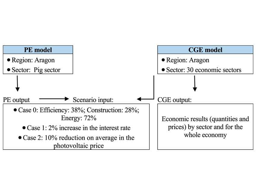 Economy-wide effects of a sustainable pathway in the pig sector: A case study in Aragon (Spain),Journal of Environmental Management, 239, 84-89.